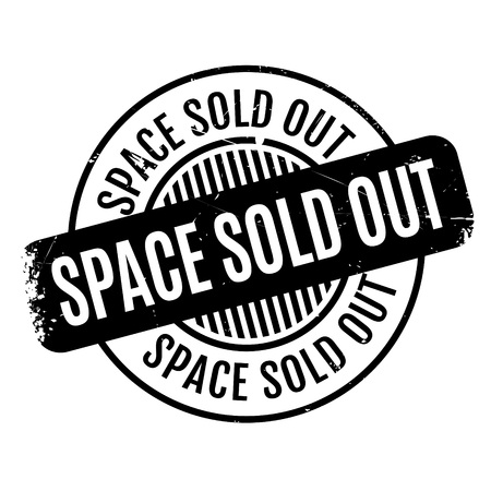 bookseller: Space Sold Out rubber stamp. Grunge design with dust scratches. Effects can be easily removed for a clean, crisp look. Color is easily changed.