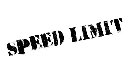 highway signs: Speed Limit rubber stamp. Grunge design with dust scratches. Effects can be easily removed for a clean, crisp look. Color is easily changed. Illustration