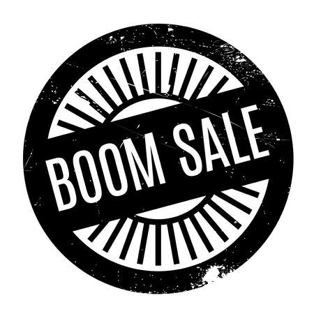 barrage: Boom Sale rubber stamp. Grunge design with dust scratches. Effects can be easily removed for a clean, crisp look. Color is easily changed.