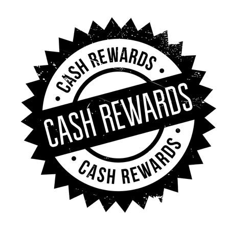 fringe benefit: Cash Rewards rubber stamp. Grunge design with dust scratches. Effects can be easily removed for a clean, crisp look. Color is easily changed.