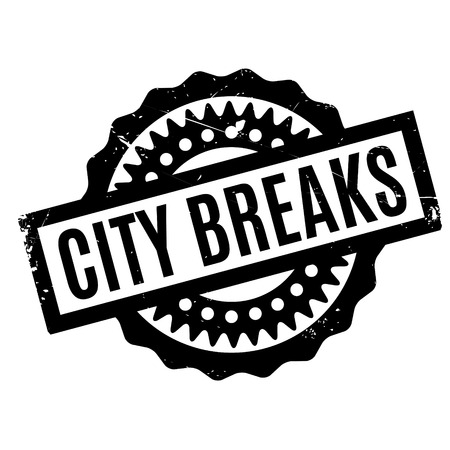 changed: City Breaks rubber stamp. Grunge design with dust scratches. Effects can be easily removed for a clean, crisp look. Color is easily changed.