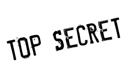 classified: Top Secret rubber stamp. Grunge design with dust scratches. Effects can be easily removed for a clean, crisp look. Color is easily changed. Illustration