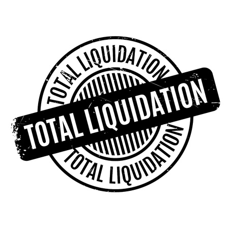 eradication: Total Liquidation rubber stamp. Grunge design with dust scratches. Effects can be easily removed for a clean, crisp look. Color is easily changed.