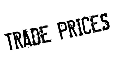 cheaper: Trade Prices rubber stamp. Grunge design with dust scratches. Effects can be easily removed for a clean, crisp look. Color is easily changed. Illustration