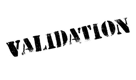 valid: Validation rubber stamp with grunge design and dust scratches.