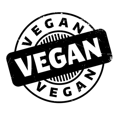labelling: Vegan rubber stamp. Grunge design with dust scratches. Effects can be easily removed for a clean, crisp look. Color is easily changed.