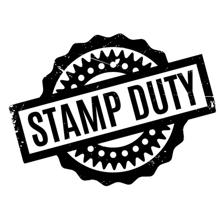 deeds: Stamp Duty rubber stamp. Grunge design with dust scratches. Effects can be easily removed for a clean, crisp look. Color is easily changed.