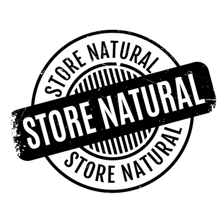 intuitive: Store Natural rubber stamp. Grunge design with dust scratches. Effects can be easily removed for a clean, crisp look. Color is easily changed. Illustration