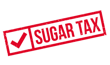 toll free: Sugar Tax rubber stamp. Grunge design with dust scratches. Effects can be easily removed for a clean, crisp look. Color is easily changed.