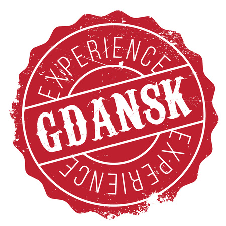 gdansk: Gdansk stamp. Grunge design with dust scratches. Effects can be easily removed for a clean, crisp look. Color is easily changed.