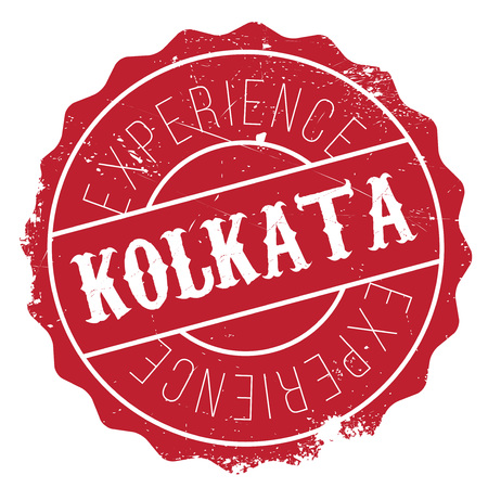 bengal: Kolkata stamp. Grunge design with dust scratches. Effects can be easily removed for a clean, crisp look. Color is easily changed. Illustration