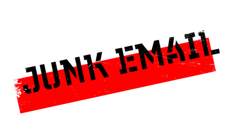 unsolicited: Junk Email rubber stamp. Grunge design with dust scratches. Effects can be easily removed for a clean, crisp look. Color is easily changed.