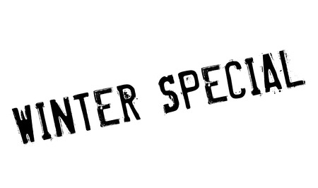 especial: Winter Special rubber stamp. Grunge design with dust scratches. Effects can be easily removed for a clean, crisp look. Color is easily changed.