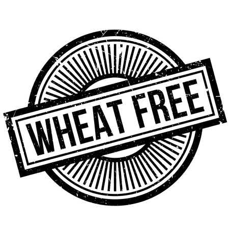 intolerancia: Wheat Free rubber stamp. Grunge design with dust scratches. Effects can be easily removed for a clean, crisp look. Color is easily changed.