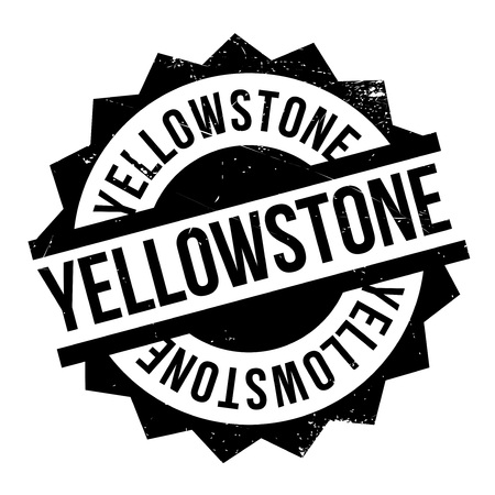 cody: Yellowstone rubber stamp. Grunge design with dust scratches. Effects can be easily removed for a clean, crisp look. Color is easily changed. Stock Photo