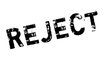 exclude: Reject rubber stamp. Grunge design with dust scratches. Effects can be easily removed for a clean, crisp look. Color is easily changed. Illustration
