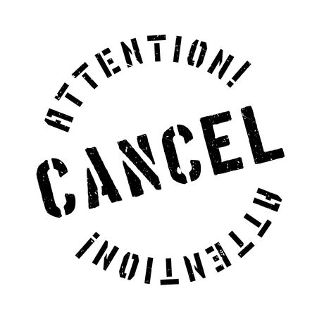 reverse: Cancel rubber stamp. Grunge design with dust scratches. Effects can be easily removed for a clean, crisp look. Color is easily changed. Illustration