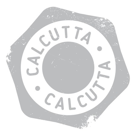 bengal: Calcutta stamp. Grunge design with dust scratches. Effects can be easily removed for a clean, crisp look. Color is easily changed. Illustration