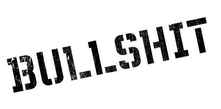 Bullshit rubber stamp. Grunge design with dust scratches. Effects can be easily removed for a clean, crisp look. Color is easily changed.