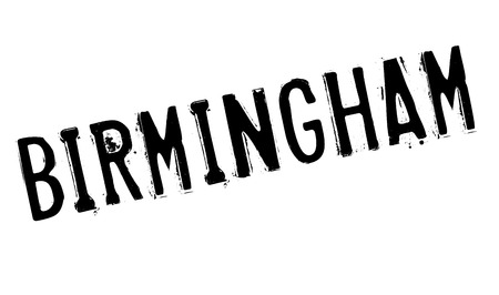 english culture: Birmingham stamp. Grunge design with dust scratches. Effects can be easily removed for a clean, crisp look. Color is easily changed. Illustration