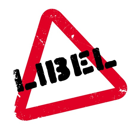 immoral: Libel rubber stamp. Grunge design with dust scratches. Effects can be easily removed for a clean, crisp look. Color is easily changed.