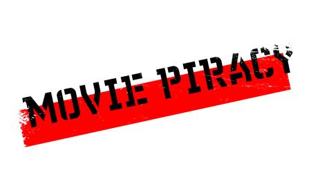 映画の著作権侵害のゴム印。ほこり傷とグランジ デザイン。効果は、クリーンでさわやかな一見のために簡単に削除できます。色が簡単に変更されます。