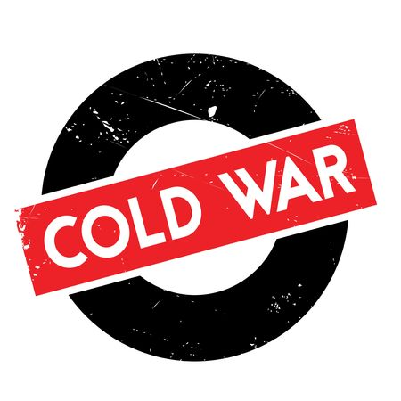 cold war: Cold War rubber stamp. Grunge design with dust scratches. Effects can be easily removed for a clean, crisp look. Color is easily changed.