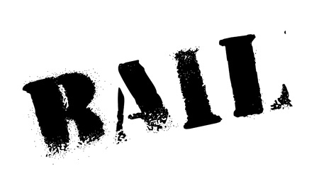 lawful: Bail rubber stamp. Grunge design with dust scratches. Effects can be easily removed for a clean, crisp look. Color is easily changed.