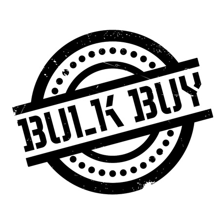 Bulk Buy rubber stamp. Grunge design with dust scratches. Effects can be easily removed for a clean, crisp look. Color is easily changed.