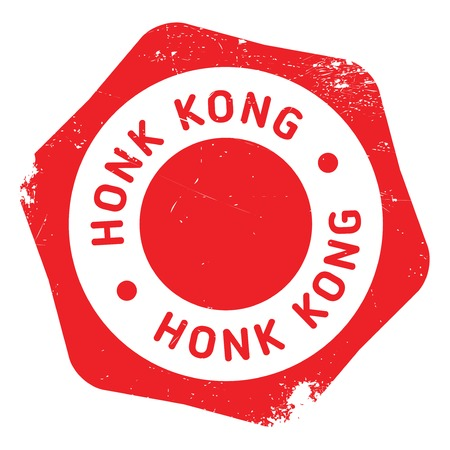 chow: Honk Kong rubber stamp. Grunge design with dust scratches. Effects can be easily removed for a clean, crisp look. Color is easily changed.