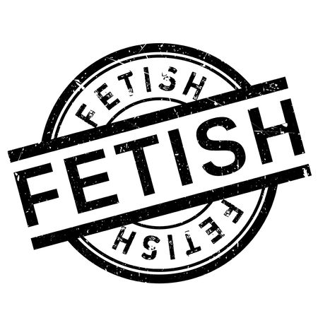Fetish stamp. Grunge design with dust scratches. Effects can be easily removed for a clean, crisp look. Color is easily changed. Illustration