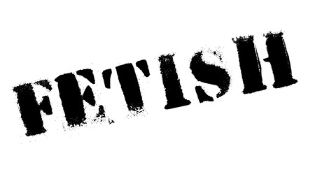 predilection: Fetish stamp. Grunge design with dust scratches. Effects can be easily removed for a clean, crisp look. Color is easily changed. Illustration
