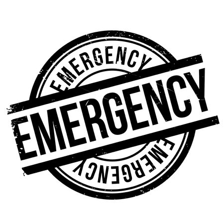 necessity: Emergency stamp. Grunge design with dust scratches. Effects can be easily removed for a clean, crisp look. Color is easily changed. Illustration