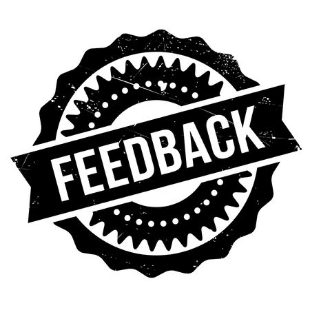 rebuttal: Feedback stamp. Grunge design with dust scratches. Effects can be easily removed for a clean, crisp look. Color is easily changed. Illustration