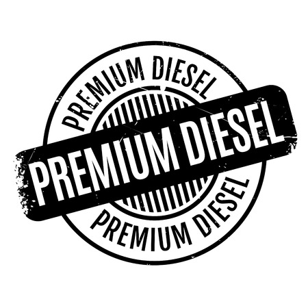 remuneration: Premium Diesel rubber stamp. Grunge design with dust scratches. Effects can be easily removed for a clean, crisp look. Color is easily changed.