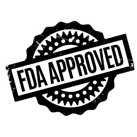 sanctioned: Fda Approved rubber stamp. Grunge design with dust scratches. Effects can be easily removed for a clean, crisp look. Color is easily changed.