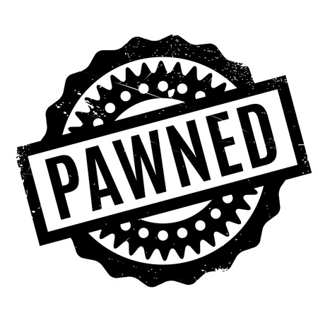 borrowed: Pawned rubber stamp. Grunge design with dust scratches. Effects can be easily removed for a clean, crisp look. Color is easily changed.
