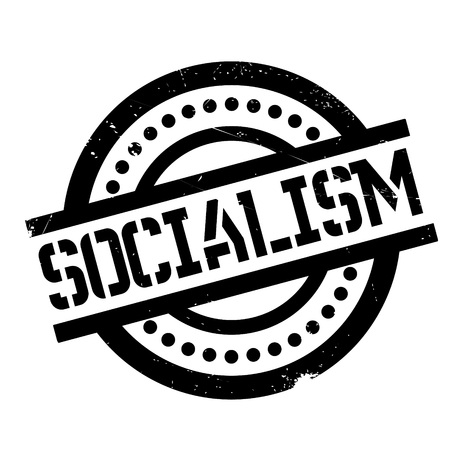 marxism: Socialism rubber stamp. Grunge design with dust scratches. Effects can be easily removed for a clean, crisp look. Color is easily changed.