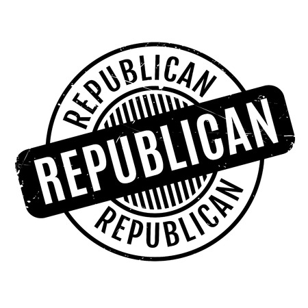 congress: Republican rubber stamp. Grunge design with dust scratches. Effects can be easily removed for a clean, crisp look. Color is easily changed.