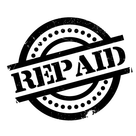 invoices: Repaid rubber stamp. Grunge design with dust scratches. Effects can be easily removed for a clean, crisp look. Color is easily changed.