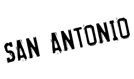 San Antonio stamp. Grunge design with dust scratches. Effects can be easily removed for a clean, crisp look. Color is easily changed. Illustration
