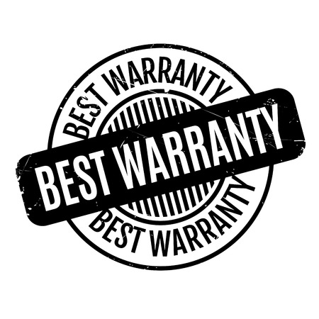 surety: Best Warranty rubber stamp. Grunge design with dust scratches. Effects can be easily removed for a clean, crisp look. Color is easily changed.