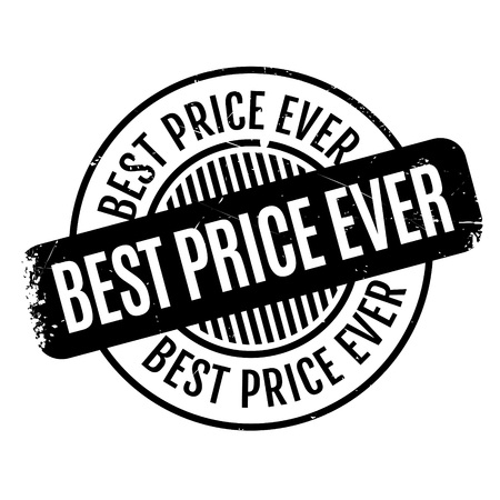 appraise: Best Price Ever rubber stamp. Grunge design with dust scratches. Effects can be easily removed for a clean, crisp look. Color is easily changed.