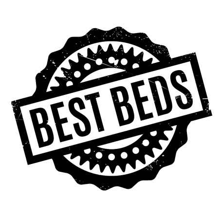 transcendent: Best Beds rubber stamp. Grunge design with dust scratches. Effects can be easily removed for a clean, crisp look. Color is easily changed.