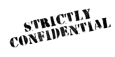 strictly: Strictly Confidential rubber stamp. Grunge design with dust scratches. Effects can be easily removed for a clean, crisp look. Color is easily changed.