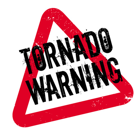 gale: Tornado Warning rubber stamp. Grunge design with dust scratches. Effects can be easily removed for a clean, crisp look. Color is easily changed.