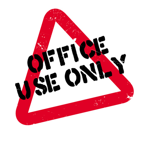 Office Use Only rubber stamp. Grunge design with dust scratches. Effects can be easily removed for a clean, crisp look. Color is easily changed.