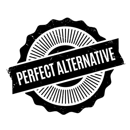 Perfect Alternative rubber stamp. Grunge design with dust scratches. Effects can be easily removed for a clean, crisp look. Color is easily changed.