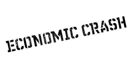 credit crunch: Economic Crash rubber stamp. Grunge design with dust scratches. Effects can be easily removed for a clean, crisp look. Color is easily changed.
