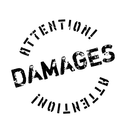 outrage: Damages rubber stamp. Grunge design with dust scratches. Effects can be easily removed for a clean, crisp look. Color is easily changed. Illustration
